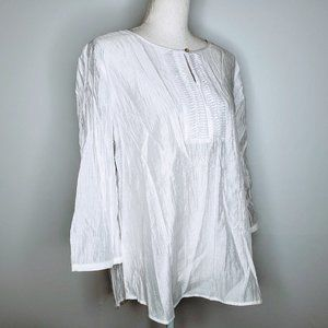 NWT Chico's Divine Details 3/4 Sleeve Blouse 2